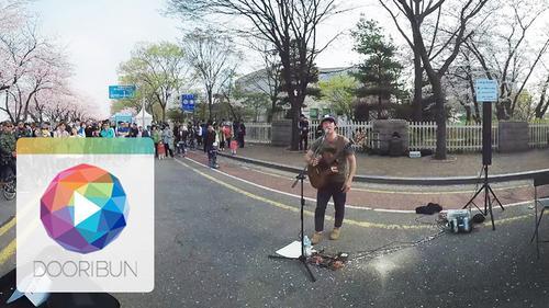 [DOORIBUN] 360VR MUSIC CONTENTS '정선호 - 이 폭포를 지나'