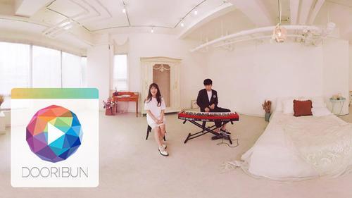 [DOORIBUN] 360VR MUSIC CONTENTS '치즈 M/V Mood Indigo'