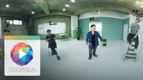 [DOORIBUN] 360VR MUSIC CONTENTS '1인 아카펠라 넵킨스 - NO'